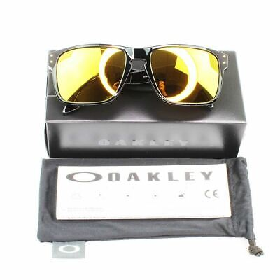 New Authentic Oakley OO9244-2056 Holbrook (AF) Sunglasses 24K Iridium Lens