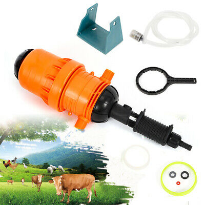 0.4%-4% Garden Fertilizer Injector Dispenser Auto Chemical Injector Water-driven