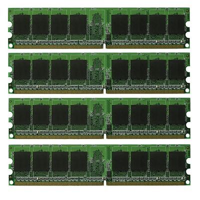 New 8GB (4X2GB) PC2-5300 DDR2-667 NON-ECC 240pin DIMM Desktop - Pc25300 Non Ecc 240 Pin