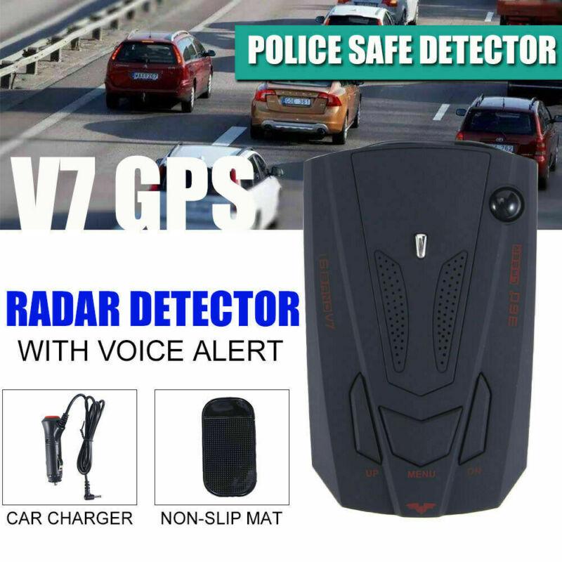 V7 360° Car 16 Band Gps Speed Police Safe Radar Detector Voice Alert Laser 2021