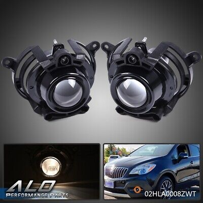 Pair LH&RH Fog Light Lamps For Buick Encore LaCrosse Chevy Malibu Cadillac CTS