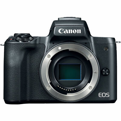 Canon EOS M50 Mirrorless Digital Camera (Body) Black 2680C001