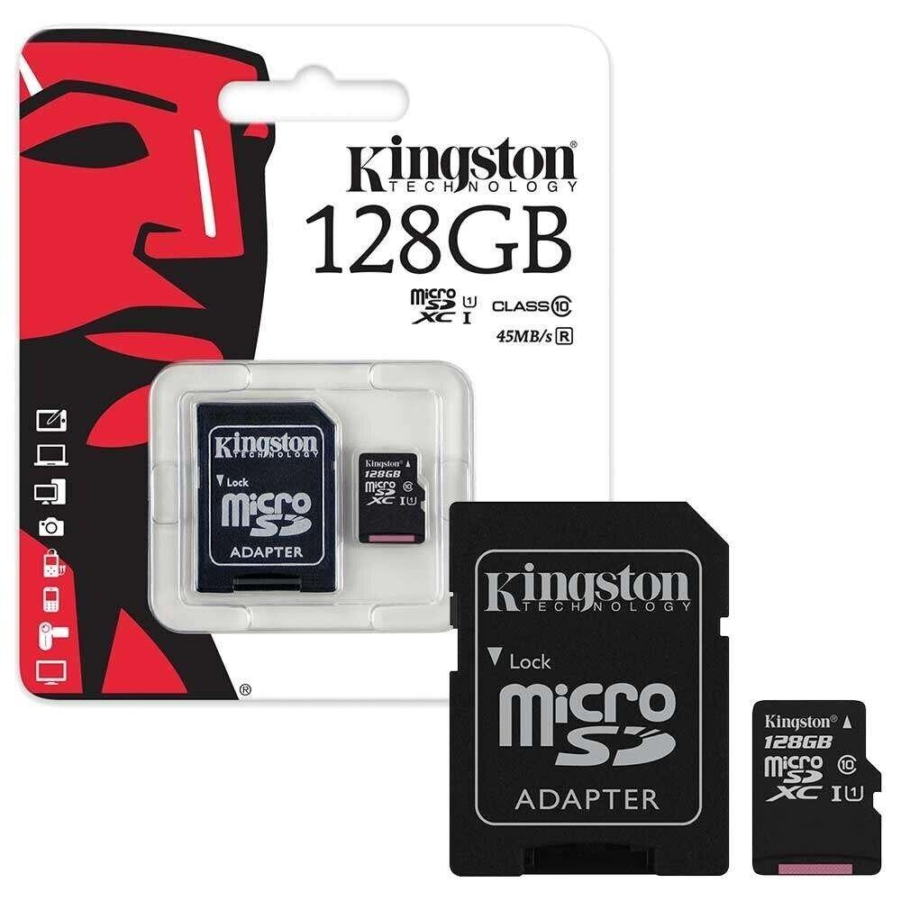 Speicherkarte KINGSTON Micro SD Karte SDHC Class 10 - 8GB 16GB 32GB 64GB 128GB