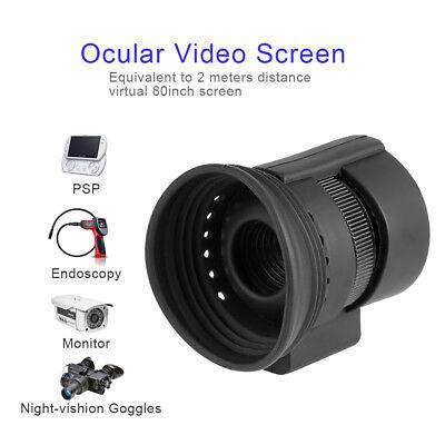 Okular Video Bildschirm Äquivalent 80Bildschirm 26° Diagonale Teil Drohnenfinder Diagonal Video