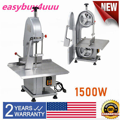 110v Commercial Electric Bone Sawing Machine Frozen Meat Cutting Machine 1500w