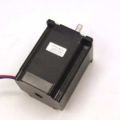 Nema 23 Cnc Stepper Motor 1.9nm 269oz.in 8mm Shaft For Cnc Mill Lathe Router