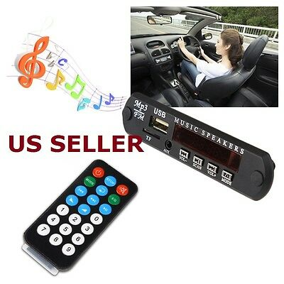 Remote Control USB TF FM MP3 Player Module Bluetooth Audio Receiver Module
