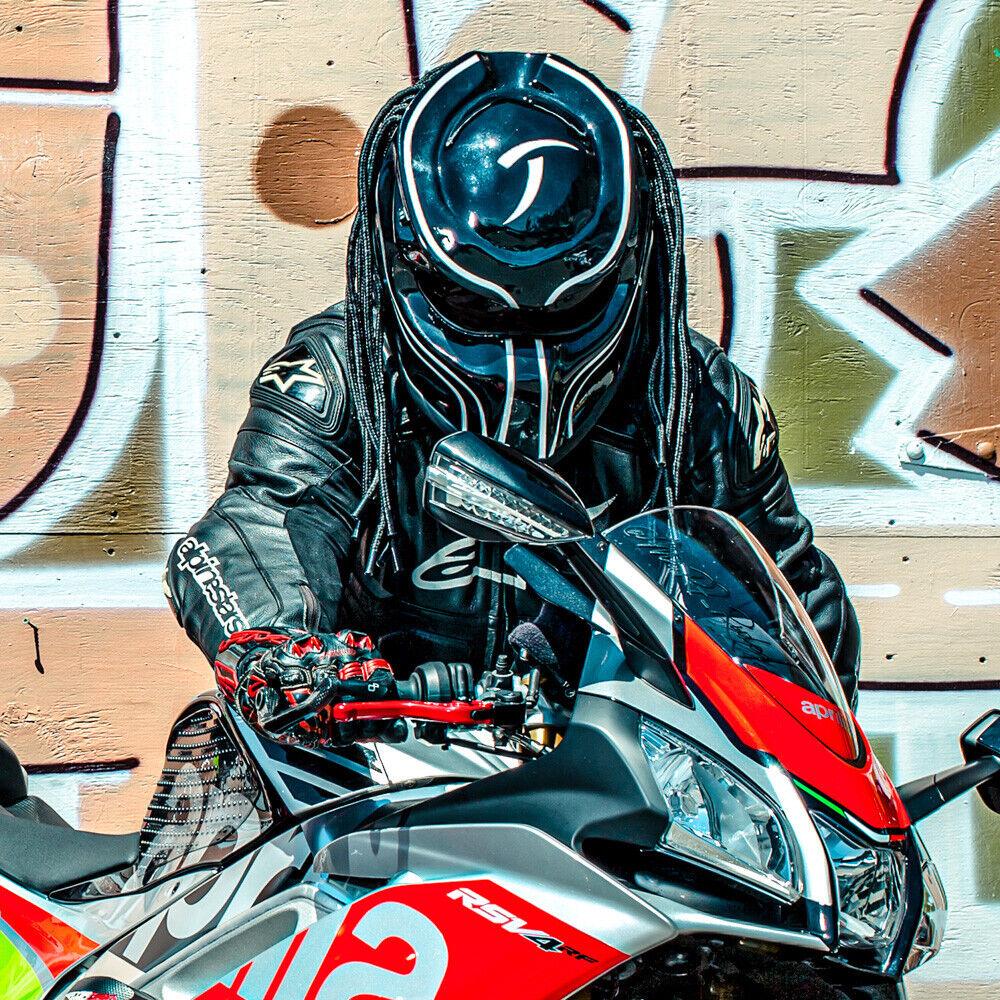 Motorcycle Helmets Predator Motorcycle Helmet/ Alien vs Predator ...