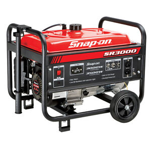 Snap-on-3000W-3500W-Portable-Gas-Generator-Carb-6-5Hp-New