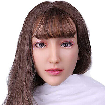 Crossdressing For Halloween (Realistic Silicone Female Masks Mask Halloween for Crossdressers)