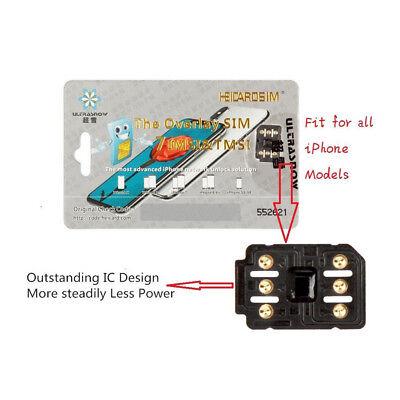Perfect Unlock Turbo Sim Card For Iphone X 8 7 6S 6 Plus   5S Se Ios 11 4 Gpp