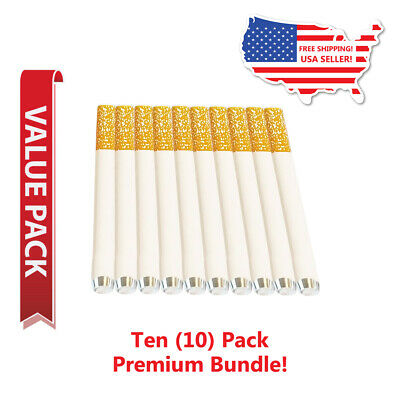 10x Metal One Hitter Pipe Cigarette Style Dugout Bat Large 3