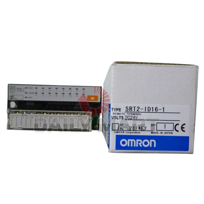 Omron Automation and Safety SRT2-ID16-1 Relay Sockets & Hardware 16PT INPUT PNP