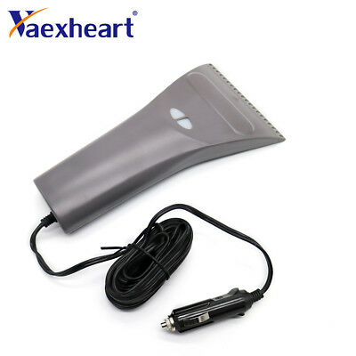 Winter Car Electric Ice Scrapers Snow Brushes Shovel Windshield Heated Removal