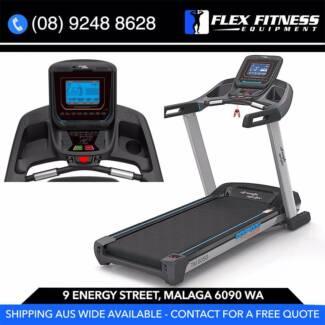 2.5CHP NEW Treadmill, by Strength Master. 50CM Deck, Shocks +
