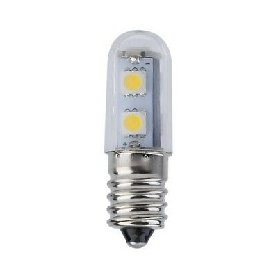 AC 220 V E14 1 Watt 7 LED 5050 SMD Warm Wei? Kühlschrank Glühbirne Lampe GE ()