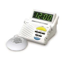 Sonic Alert Sonic Boom SB1000 Vibrating Alarm Clock W/ Bed Shaker, Lamp Flasher