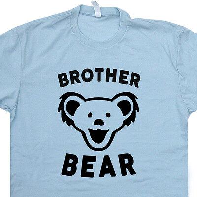 Mama Maternity T-shirt (Brother Bear T Shirt Papa Bear Tee Mama Bear Worlds Okayest Sister Maternity Tee)
