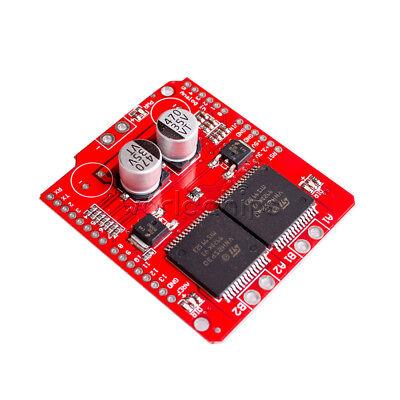 For Arduino Vnh2sp30 Stepper Motor Driver Module 30a Moto Shield Replace L298n