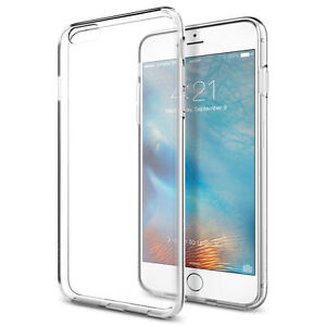 best service d6445 52b27 Spigen Outlet iPhone 6 / 6s Plus Liquid Crystal Clear Protective Cover Case