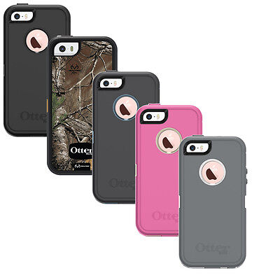Authentic OtterBox Defender for Apple iPhone 5/5S & iPhone SE Case (No Clip)