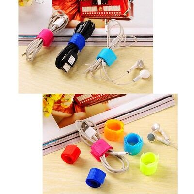 20x Cable Tie Winder Band Strap Wire Organizer Holder Home Storage Tool Easy Use