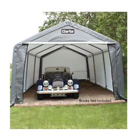 Clarke CIG1224 Heavy Duty Instant Garage 24ft X 12ft 3503518