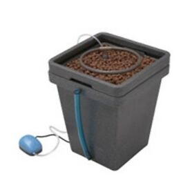 Hydroponics GHE 20L Litre Aqua Water Farm Complete With 1 Way Air Pump Ring Feed
