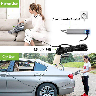 - 4 In 1 High Power Portable Wet And Dry Car Vacuum Cleaner With Air Compressor