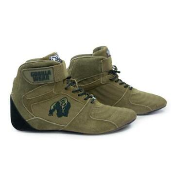 Gorilla Wear Perry High Tops Pro - Army Green - Maat 36