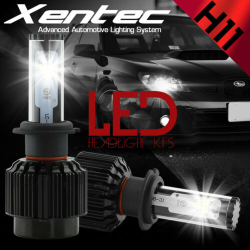 H11 6000K 388W 38800LM 2016 4-Sides LED Headlight Kit Low Beam Bulbs High Power