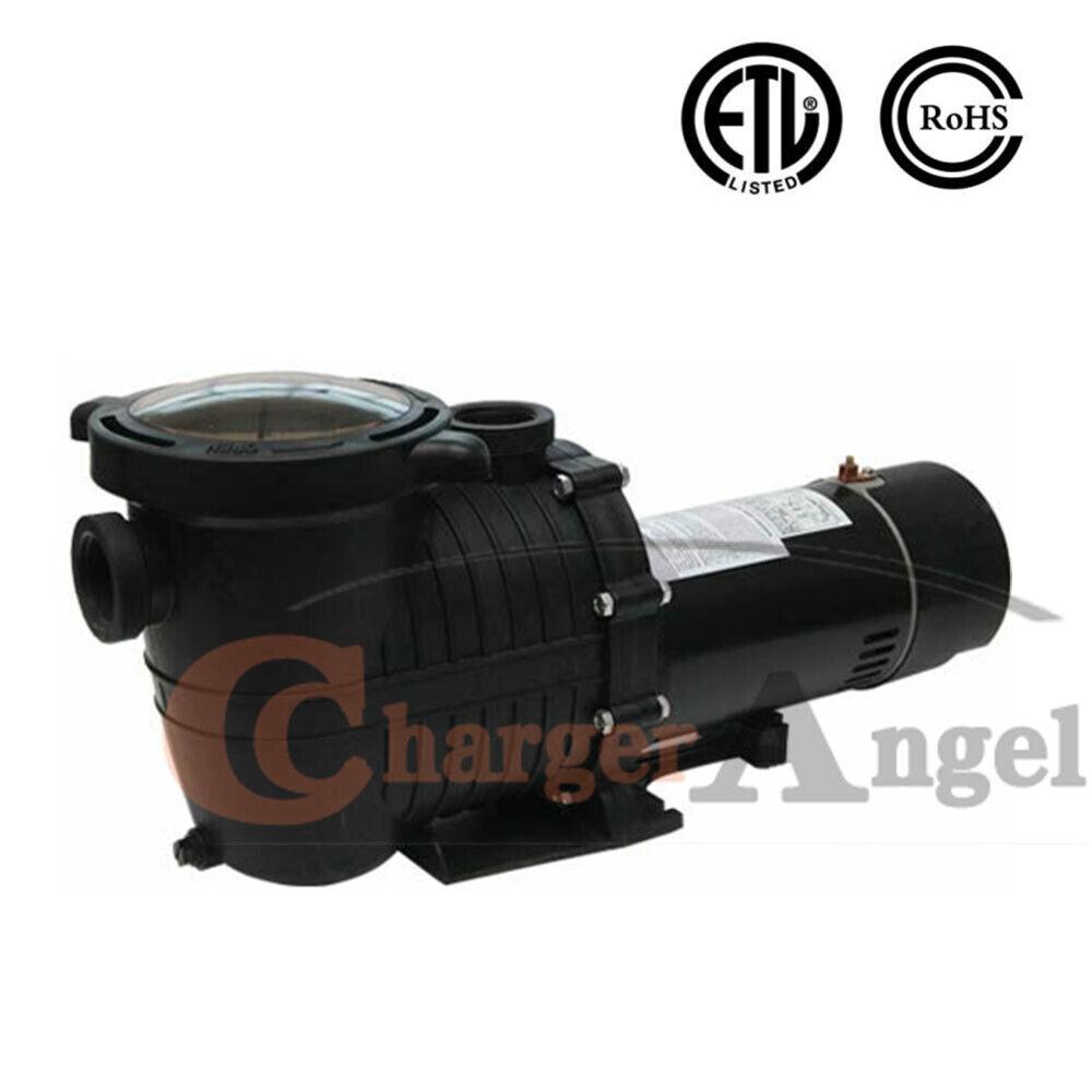 2HP 115-230v Inground Swimming Pool pump motor Strainer Hayw