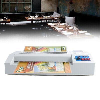 600w Laminator Machine 4 Roller A3 Size Cold Photo Paper Laminating