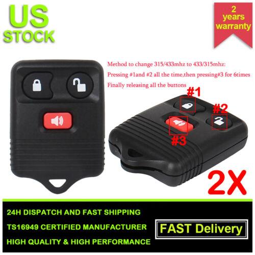 Car Key Fob Remote 4B For 2001 2002 2003 2004 2005 Ford Explorer Sport Trac
