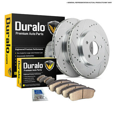 For Acura TL CL TSX Duralo Front Brake Pads And Rotors Kit DAC