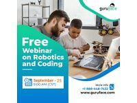 Guruface offers Free Webinar on Robotics and Coding