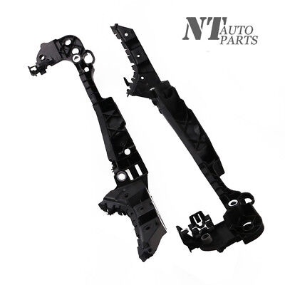 Front Lamp - Pair Headlight Front Lamp Guide Support Bracket Mount For Golf GTI 10-14 RH&LH