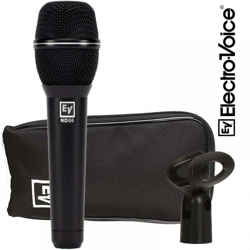 Electro-Voice ND86 Dynamic Supercardioid Vocal Microphone EV ND-86