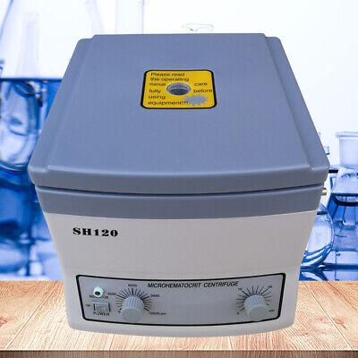 High Speed Microhematocrit Centrifuge Machine Electric Medical Lab Centrifuge Us
