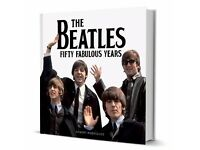 Fifty Fabulous Years The Beatles Hardback Book