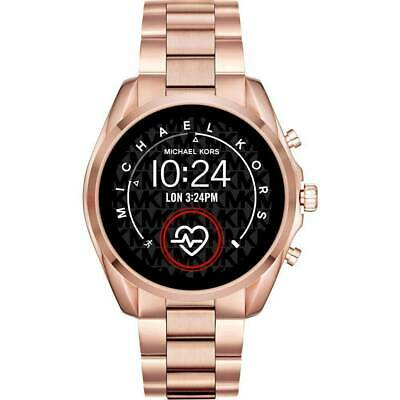Michael Kors Access Slim Bradshaw Rose Gold Smart Touchscreen Watch MKT5086