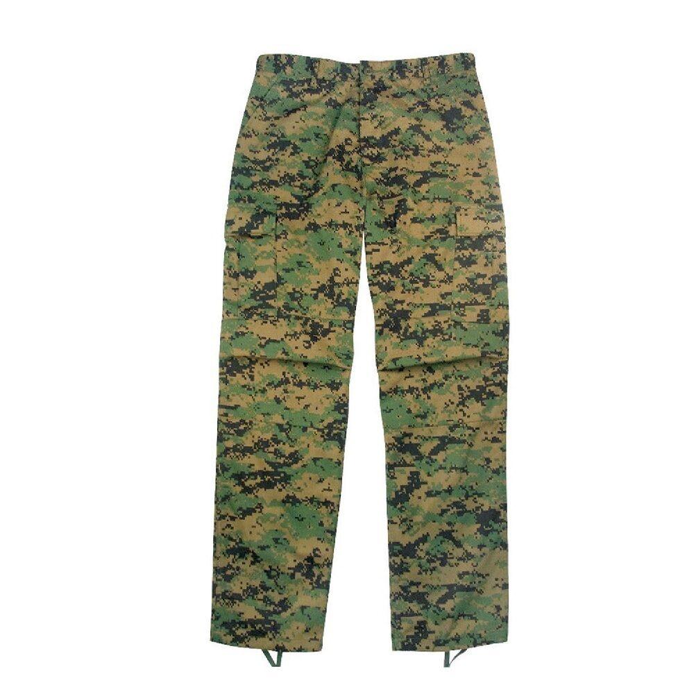Rothco 65412 Woodland Digital Camo BDU Shorts