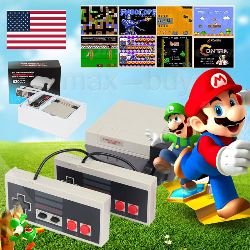 620 Game Classic TV Mini Nintendo Retro Video Game Console REE Shipping From CA