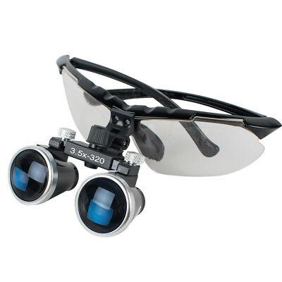 3.5x Dental Surgical Medical Binocular Loupes Magnifer Glasses 320mm Stylish Fda