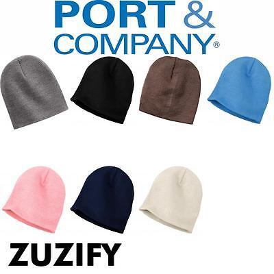 Port & Company Knit Skull Cap Beanie . CP94 (Company Knit Skull Cap)
