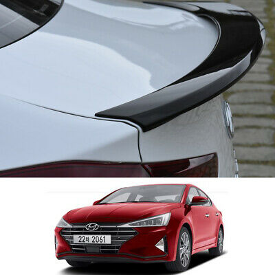 Trunk Spoiler Painted Rear spoiler 2 Color For Hyundai Elantra 2019+