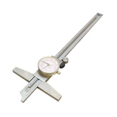 8 Inch200mm Metric Dual Reading Dial Caliper Stainless Steel Measurement Tool