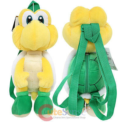 Super Mario Koopa Troopa Plush Doll Backpack Nintendo Cosplay Costume - Koopa Troopa Costume