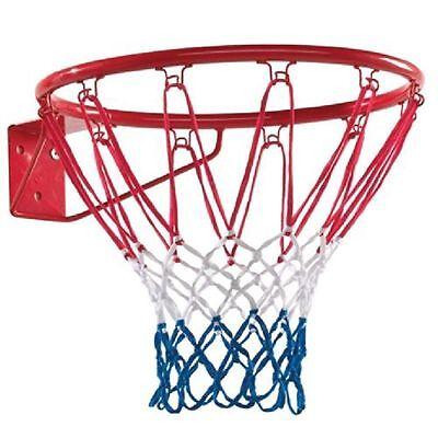 "Basketball Ring Hoop Net 18"" Wall Mounted Outdoor Hanging Basket Professional UK"