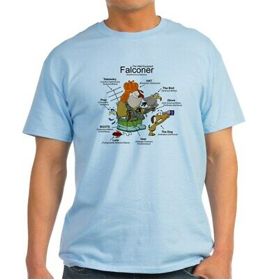 CafePress The Falconer Light T Shirt 100% Cotton T-Shirt